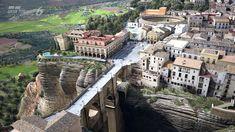 Ronda, spain - amazing pictures mountainous town, The town of ronda in malaga…