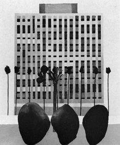 David Hockney, California Bank, 1964