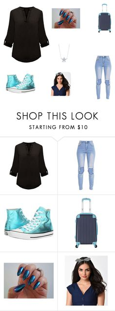 """""""Typical Jane Template"""" by elizabethsimmons-2 on Polyvore featuring Converse, Banned and Diamond Star"""