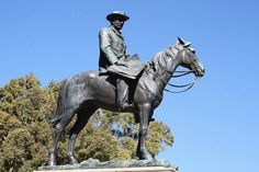 After Cecil John Rhodes' death in 1902 the residents of Kimberley elected to erect a memorial in his honour. Unveiled in this bronze statue is reputed to be one of the finest equestrian statues in the world