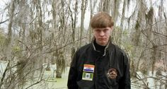 """Prominent MRA tries to blame Charleston shooting on feminism and its alleged """"lies about rape culture."""" - Dylann Storm Roof's Facebook profile picture; the patches on his jackket depict the flags of Rhodesia and apartheid-era South Africa"""