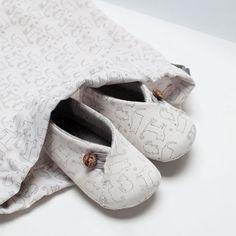 ZARA - MINI - CLOTH SHOE