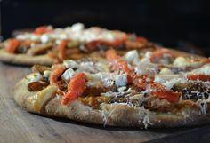 Greek-Mediterranean Flatbread Pizza