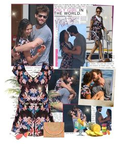 """Nina Dobrev - Holiday on a yacht with her boyfriend Austin Stowell in Monte Carlo - 26/07/2015"" by iced ❤ liked on Polyvore"
