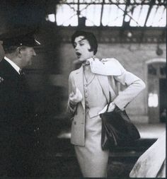 Bettina ( Simone Micheline Bodin )  By Henry Clarke  - For Rossen - 1950