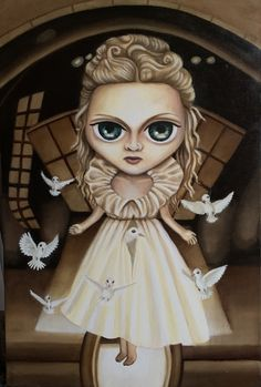 Oleo sobre tela 40x60cm Bedtime Stories, Madonna, Childhood, Princess Zelda, Painting, Fictional Characters, Art, Tela, Art Background