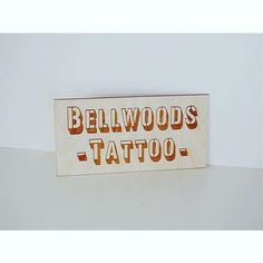 Old school stencil style ✏️ #trinitybellwoods #tattoos #signs #woodsigns #classic #blocklettering #typography #branding