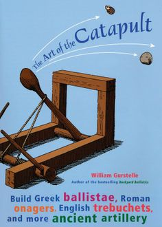 Students build Greek ballistae, Roman onagers, English trebuchets and more ancient artillery. In the process they explore math and physics using levers, force, torsion, tension, and traction and get acquainted with history s most colorful marauders. Instructions and diagrams illustrate how to build seven authentic working model catapults. 192 pages, softcover.  $17.63