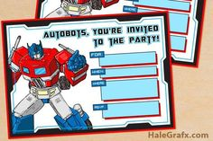 Top Transformers Party Ideas | Brisbane Kids