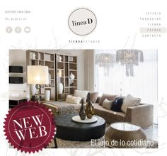 ¡Tenemos nueva web!  Renovamos nuestra página con nuevo look, más proyectos del Estudio, y fotos de los productos que podés encontrar en nuestra Tienda. Visitános en www.lineadinteriorismo.com.ar