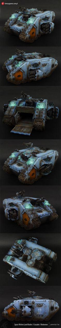 Space Wolves Land Raider / Crusader / Redeemer