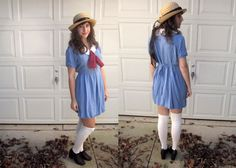 Madeline costume for adults pussy