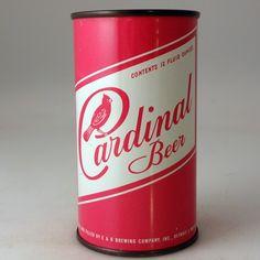Cardinal Beer ,flat top,1958, Detroit,Mi.