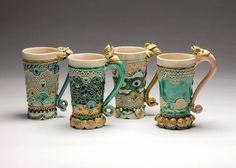 a wonderful ceramic artist  Claire Prenton