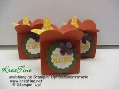 KreaTine: Ferrero Küsschen Verpackung