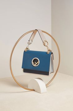 Shop the best Fendi collections for women, men and kids online: runway looks, bags, accessories, jewelry and much more. Photography Bags, Jewelry Photography, Creative Photography, Kpop Fashion Outfits, Fashion Bags, Fashion Still Life, Suitcase Bag, Bag Display, Cute Bags