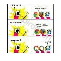Haha I hate Internet Explorer! Crazy Funny Memes, Wtf Funny, Funny Cute, Funny Jokes, Hilarious, Funny Stuff, Memes Humor, Internet Explorer Jokes, Funny Memes