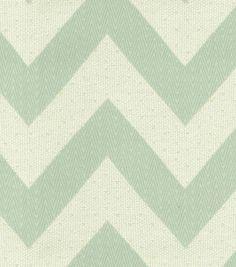 Lots of #chevron love! Upholstery Fabric: @HGTV HOME Chevron Chic Glacier