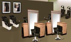 images of salon workstations | Veeco Manufacturing ::Custom Beauty Salon Furniture