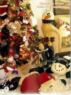 revistas de manualidades gratis Christmas Time, Christmas Wreaths, Origami, Gift Wrapping, Holiday Decor, Gifts, Bella, Country, Home Decor