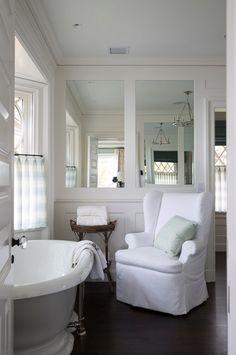 mirror walls like this thick panels ,,,