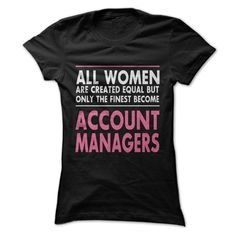 Awesome Account Manager T Shirt