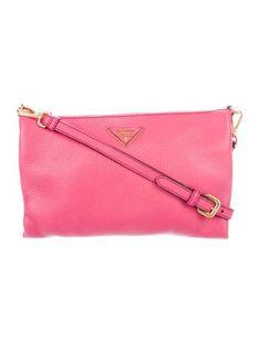 Prada Vitello Daino Crossbody Bag. Prada Handbags ... 177a56de6412b