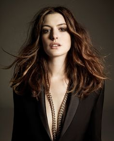 Anne Hathaway  is a great actress, that since i was little she made me feel like the princess i always wanted to be.