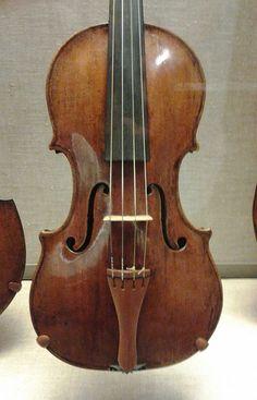 Violin by Nicolo Amati (1641) at Boston Museum of Fine Arts