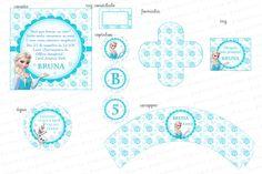 Kit Digital Frozen - Para imprimir - Kit Princesa Elza - Charme Papeteria