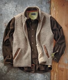 The Swansea Vest from J L Powell.  Available for $198 from www.jlpowell.com