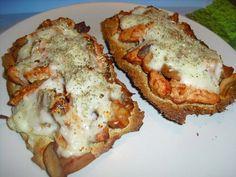 Mincir avec thermomix - Spécial régime DUKAN : Tartines gratinées au poulet - DUKAN