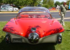 1956 Buick Centurion Concept - That's the camera mounted above the tail cone. http://sloanlongway.org/sloan-museum/collections-of-sloan-longway/automotive-collection/1956-buick-centurion