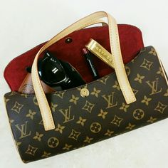 Sonatine | Louis Vuitton | Authentic. Basically new condition. Used once but it really does look like it came straight from the store. Comes with the two tags you see and the original dust bag. Guaranteed authentic AND Poshmark will also authentic the item. Size is 11in x 5.5in. Depth is 2.5in. There is no signs of wear or discoloration. Price is pretty firm, but don't hesitate to make an offer. Selling on behalf of my mom. NOT applicable for Bundle Discounts. Louis Vuitton Bags