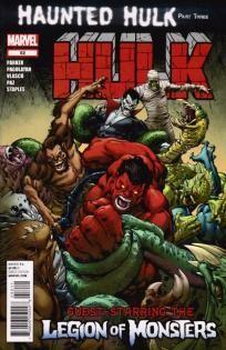 Hulk #52 Jeff Parker Carlo Pagulayan ---> shipping is $0.01 !!!