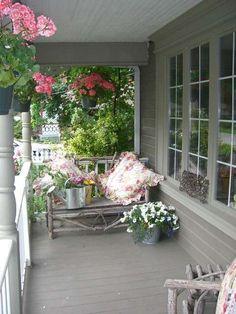 Come arredare la veranda in stile provenzale - Arredare una veranda aperta