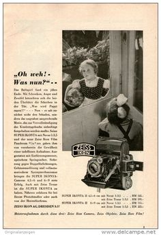 Original-Werbung/Inserat/ Anzeige 1939 - 1/1-SEITE - ZEISS IKON - ca. 220 X 145 mm