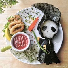 Too cute to eat: the amazing food art of Samantha Lee - Blog of Francesco Mugnai