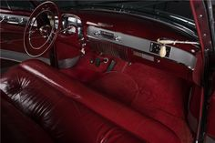 1952 CADILLAC SERIES 62 CONVERTIBLE - Interior - 197208