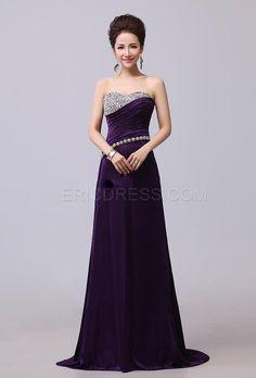 Elegant A-Line Sweetheart Crystal Ruched Prom Dress Evening Dresses 2014- ericdress.com 10939794