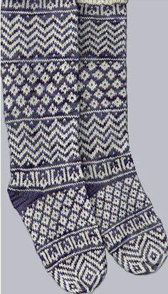 both my Muslim knit stockings