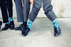 Get funky with our collection of bold socks!