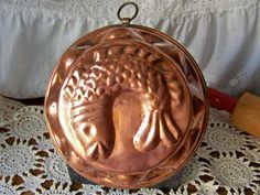 Vintage Copper Fish Baking Mold by cynthiasattic on Etsy, $59.00
