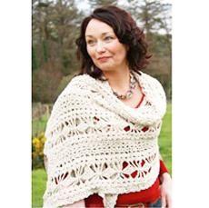 Irish Hand Crocheted Shaw