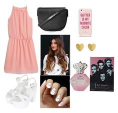 """""""Untitled #21"""" by alytoo on Polyvore featuring MANGO, Topshop and Kate Spade"""