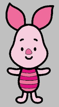 Chibi Piglet Favorite Character From Winnie The Pooh Designs Pinterest
