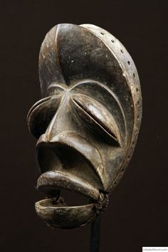 A rare Dan/Wobe Mask of the borderdestrict Ivory Coast/Liberia, with remarkable fascial features; African Masks, African Art, African Sculptures, Art Africain, Masks Art, Historical Art, Ivory Coast, Elements Of Art, African Design