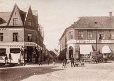 Viborg Billeder- Luftfotos, seværdigheder billeder af byrådet mv. Viborg, Past, Street View, In This Moment, History, Country, Building, Modern, Sculpture