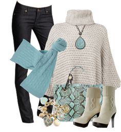 """Ponchos #2"" by stylesbyjoey on Polyvore"