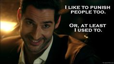 Lucifer - Quote - I like to punish people too